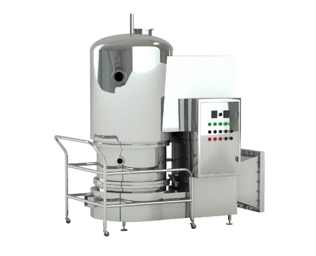 Mesin Drier Pengering Makanan Medicity Van Belt Utk Steam Gfg Series High Efficiency Fluidized