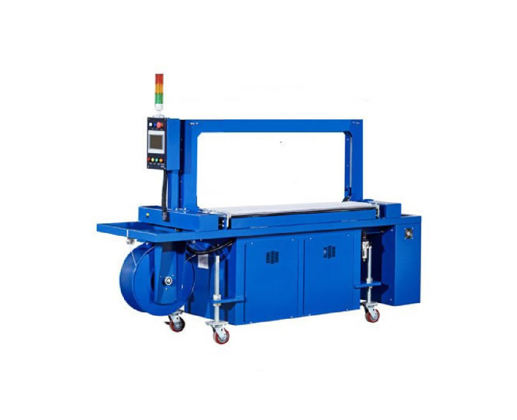 Mesin Strapping 5mm Medicity Van Belt Utk Steam Q600a High Speed Automatic Machine With Power Roller Table